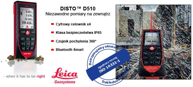 D510 nowy dalmierz od Leica Geosystems